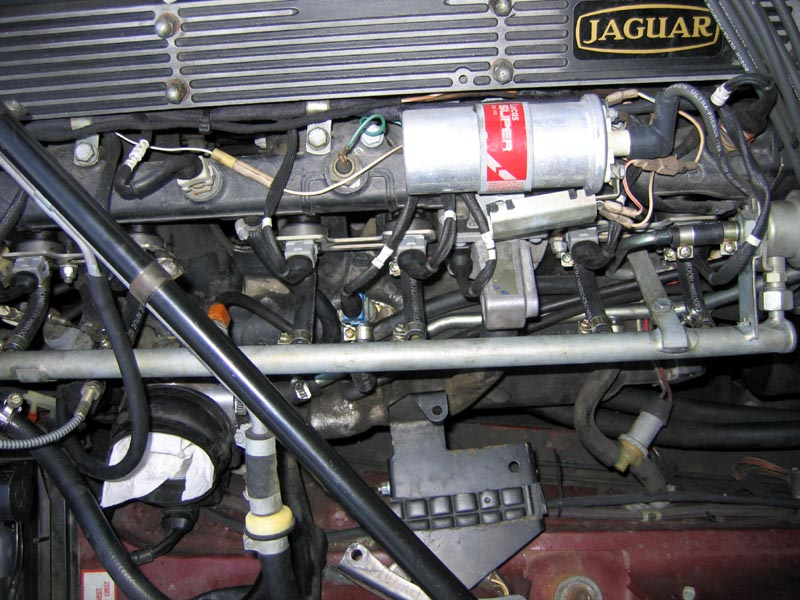Fuel Rail Installed on Jaguar Xj6 Fuel Pump Diagram
