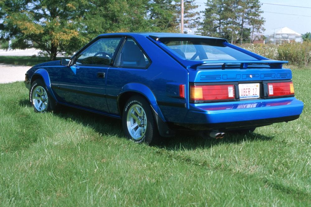 1985 Supra In Volvo Laser Blue Scan 080925 0046